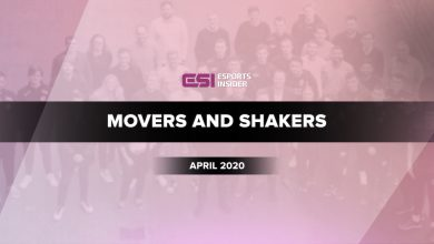 Photo of Esports movers and shakers in April 2020