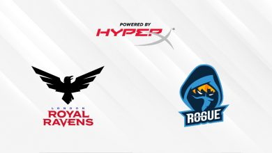 Photo of London Royal Ravens and Rogue accomplice with HyperX