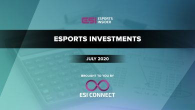 Photo of $25.3M raised in disclosed esports investments in July 2020