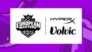 Photo of European Masters finds assist for the summer season in HyperX and Volvic Germany