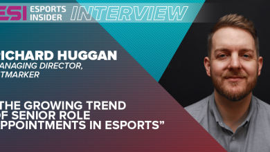 Photo of Richard Huggan: The rising development of senior position appointments in esports