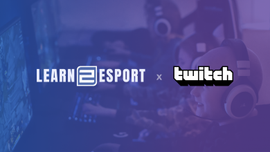 Photo of Learn2Esport groups with Twitch for streaming curriculum