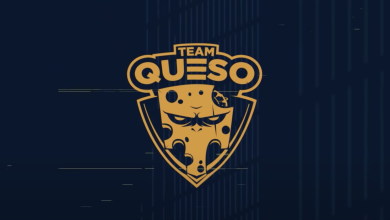 Photo of Crew Queso companions with Twitch and ESPAT