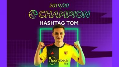 Photo of Hashtag Tom on being topped 2019/20 ePL champion… – European Gaming Trade Information