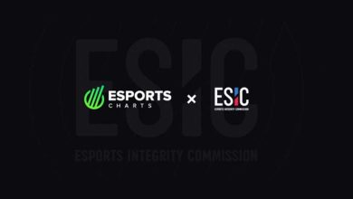 Photo of Esports Charts named as ESIC knowledge accomplice
