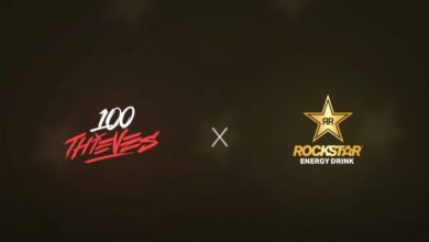 Photo of 100 Thieves unveils partnership with Rockstar Vitality Drink