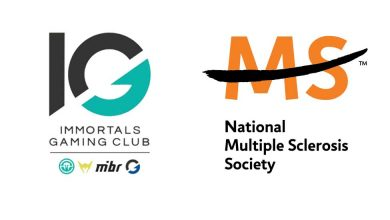 Photo of Immortals Gaming Membership companions with Nationwide MS Society