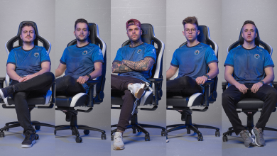 Photo of OFFSET Esports companions with noblechairs