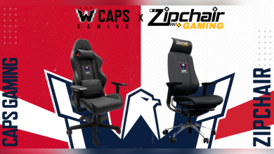 Photo of Caps Gaming enters two-year partnership with Zipchair
