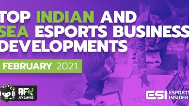 Photo of High Indian and SEA esports enterprise developments in February 2021
