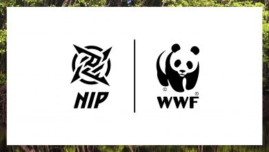 Photo of WWF companions with Ninjas in Pyjamas for Earth Hour marketing campaign