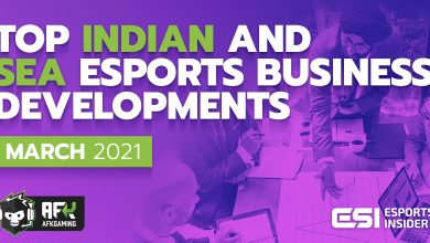 Photo of Prime Indian and SEA esports enterprise developments in March 2021