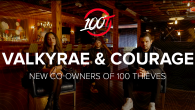 Photo of Valkyrae and CouRage made co-owners of 100 Thieves