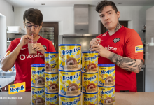 Photo of Vodafone Giants companions with Nesquik