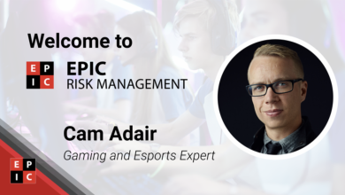 Photo of Cam Adair named EPIC Threat Administration esports marketing consultant