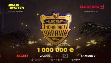 Photo of Parimatch companions with UESF for CS:GO and Dota 2 tournaments