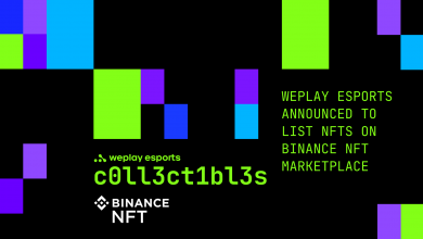 Photo of WePlay Esports to launch its first NFTs on Binance