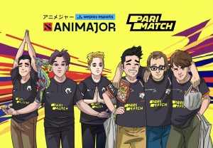 Photo of WePlay Esports companions with Parimatch for AniMajor broadcasts