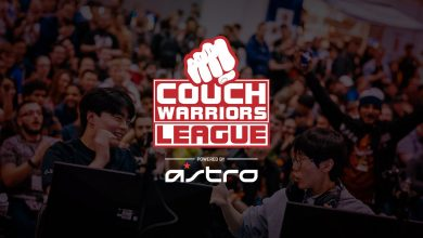 Photo of CouchWarriors League companions with ASTRO Gaming