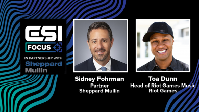 Photo of VIDEO: Regulation, music, and esports with Riot Video games Music's Toa Dunn | ESI Focus
