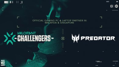 Photo of Predator companions with VALORANT Challengers Malaysia and Singapore