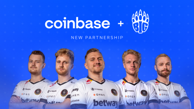Photo of BIG companions with cryptocurrency change Coinbase